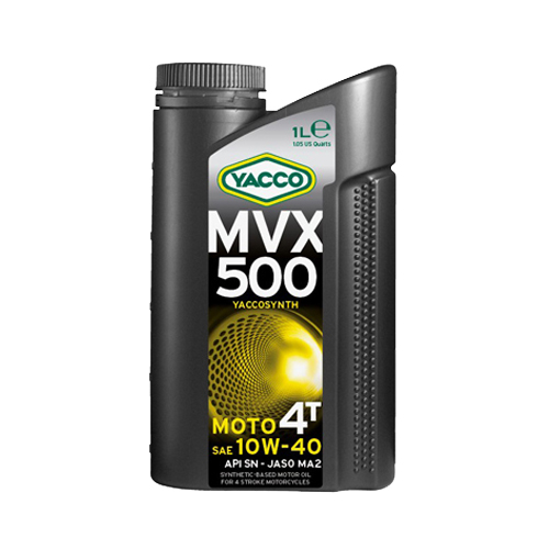 Click to enlarge MVX 500 4T 10W40