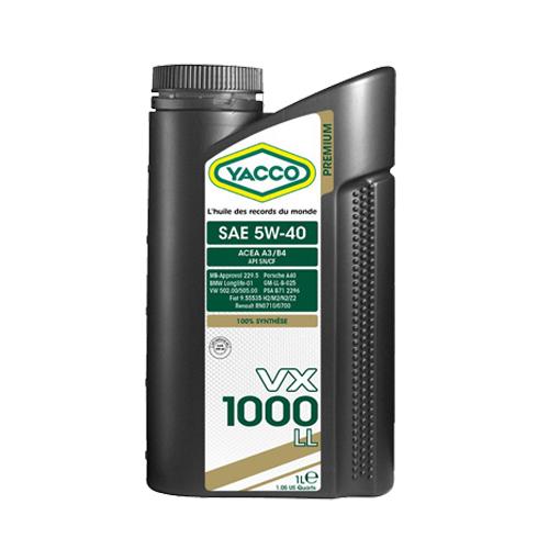 VX1000-5w40-LL