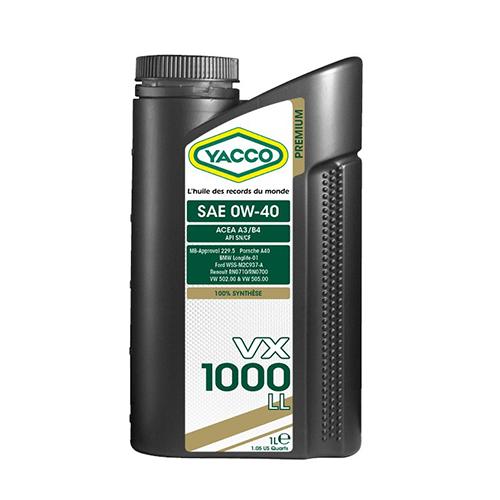 VX 1000 LL 0W40 1l